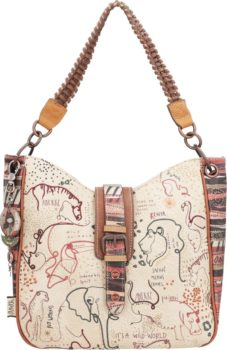 Anekke béžové kabelka Safari fushion