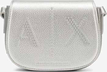 Armani Exchange stříbrná kabelka