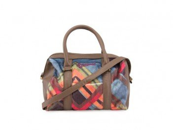 Barevná kabelka s kožešinou Desigual Malta