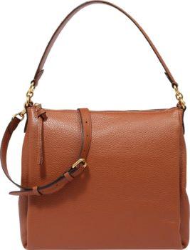 COACH Kabelka 'leather shay shoulder bag' hnědá