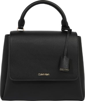 Calvin Klein Kabelka 'FLAP TOP H SM' černá