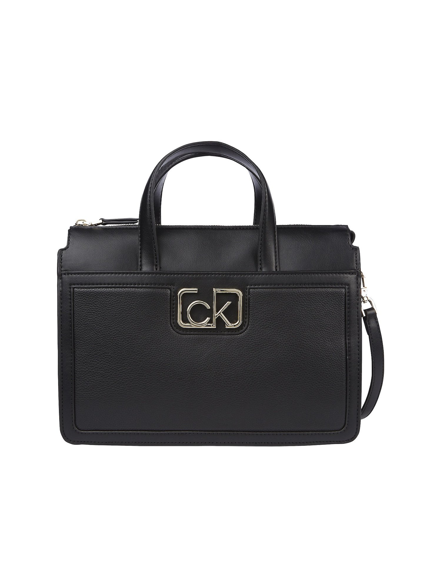Calvin Klein Kabelka černá / stříbrná