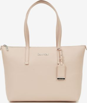 Calvin Klein béžová kabelka