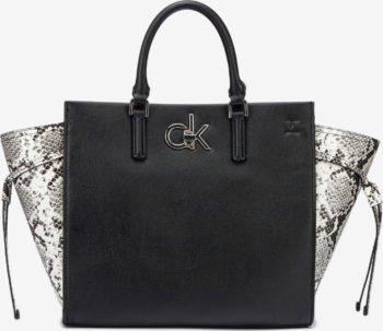 Calvin Klein černá kabelka Python