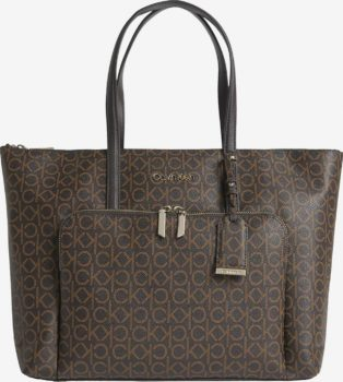 Calvin Klein hnědá kabelka Must Shopper
