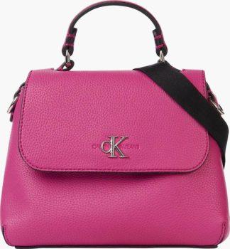 Calvin Klein růžová kabelka Mini Top Handle
