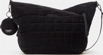 Černá dámská prošívaná crossbody kabelka Desigual Cocoa Harry 2.0 Maxy