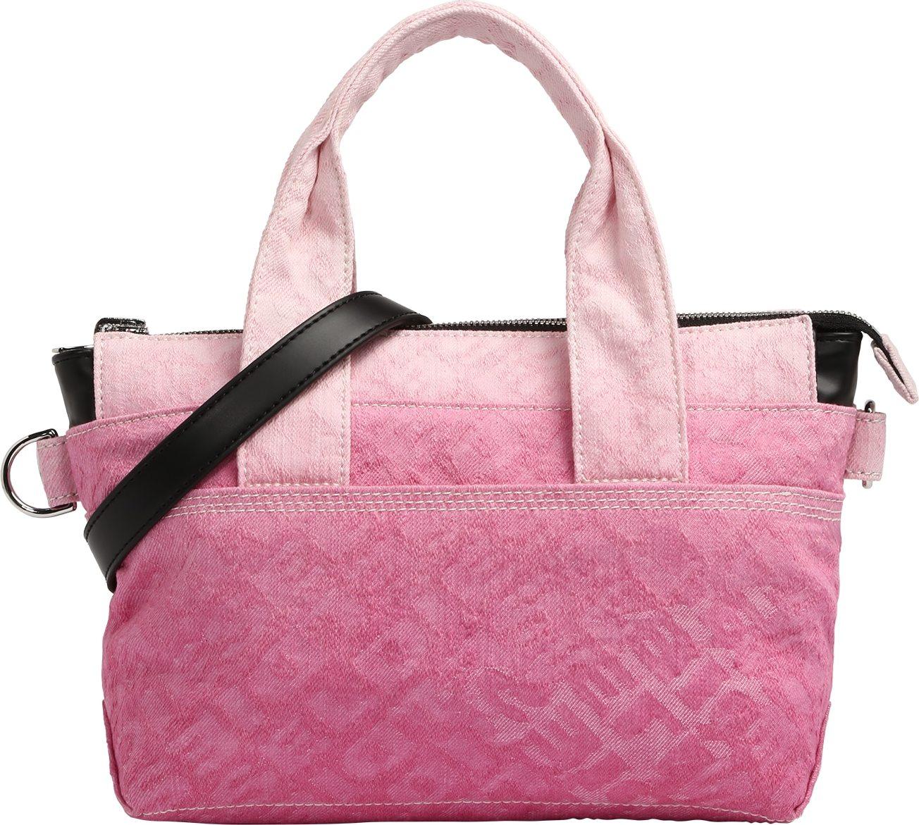 DIESEL Kabelka růžová / pink / pastelově růžová