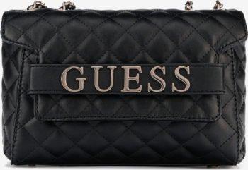 Guess černá crossbody kabelka Illy Convertibe