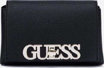 Guess černá crossbody kabelka Uptown Chic Mini