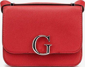 Guess červená crossbody kabelka Corily
