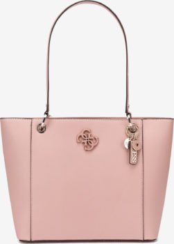 Guess růžová kabelka Noelle