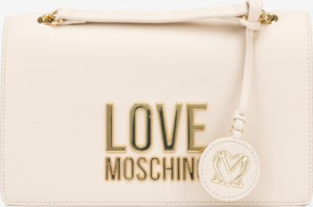 Love Moschino Cross body bag Bílá Béžová