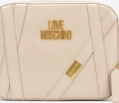 Love Moschino béžová crossbody kabelka