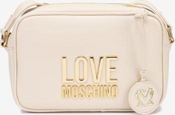 Love Moschino bílá crossbody kabelka