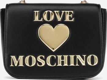Love Moschino černá crossbody kabelka