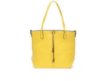 Modro-žlutá oboustranná kabelka 2v1 Kris-Ana