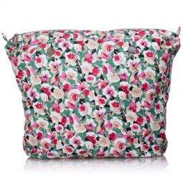 O Bag vnitřní plátěná taška Floral