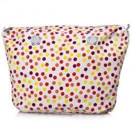 O Bag vnitřní plátěná taška mini červená