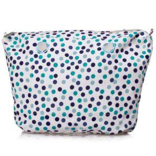 O Bag vnitřní plátěná taška mini modrá