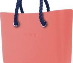 O bag kabelka Corallo s tmavě modrými krátkými provazy