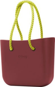 Obag BORDEAUX S PROVAZEM NEON YELLOW