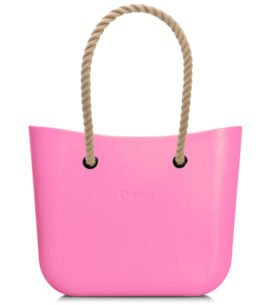 Obag MINI PINK S PROVAZEM NATURAL