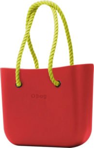 Obag RED S PROVAZEM NEON YELLOW
