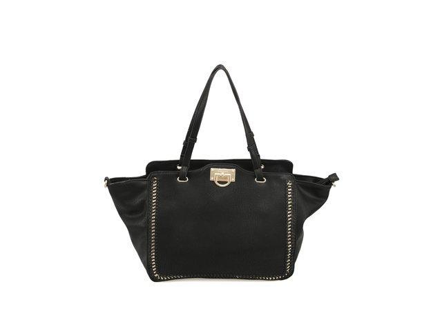 Prostorná kabelka Gionni v černé barvě