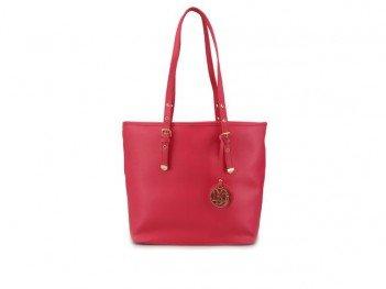 Růžová stylová kabelka LYDC
