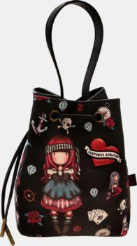 Santoro černá stahovací kabelka Gorjuss Pirates Mary Rose