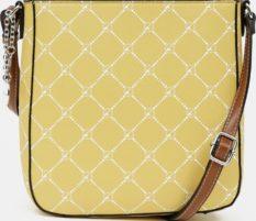 Tamaris žlutá crossbody kabelka