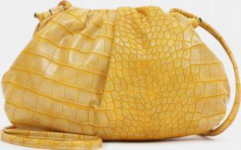 Tamaris žlutá malá kabelka