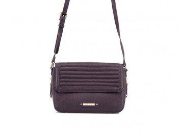 Tmavě fialová menší kabelka přes rameno DSUK