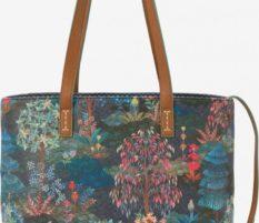 Tmavě modrá dámská kabelka PiP studio Garden Dark Blue