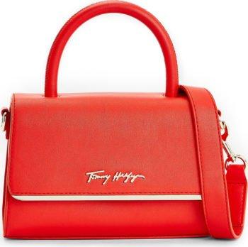 Tommy Hilfiger červená malá crossbody kabelka