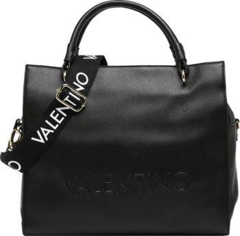 Valentino Bags Kabelka černá / bílá