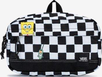 Vans černo-bílá ledvinka SpongeBob Construct