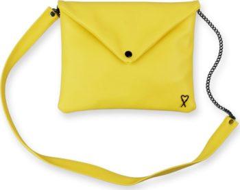 Xiss žluté psaníčko Yellow Minimalist