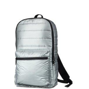 Converse stříbrný metalický batoh
