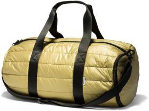 Converse zlatá metalická sportovní taška