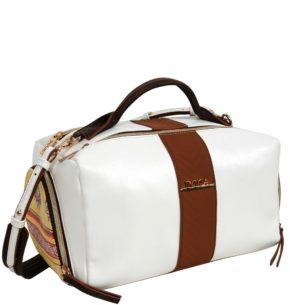 Doca bílá stylová kabelka