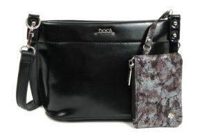 Doca černá elegantní kabelka s pouzdrem