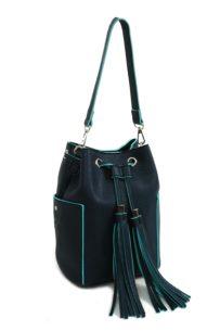 Doca modrá praktická kabelka
