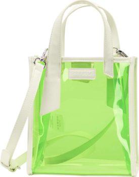 myMo ATHLSR Kabelka svítivě zelená / bílá