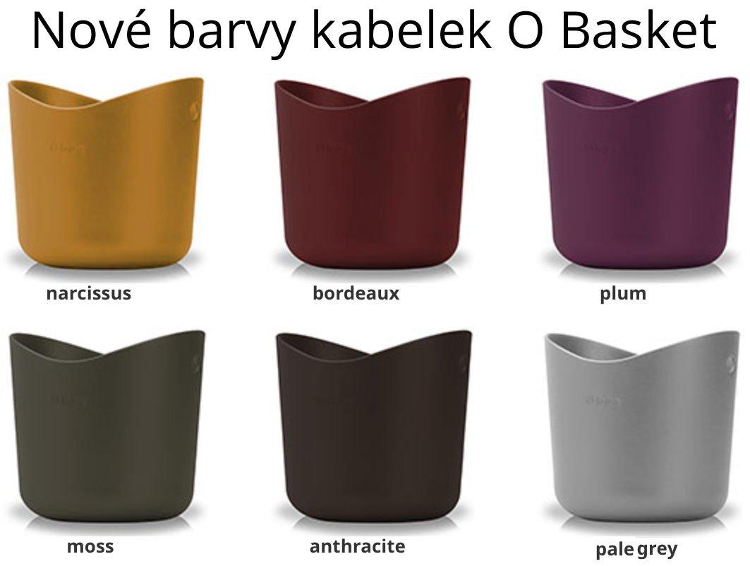 Nové barvy kabelek O Bag Basket