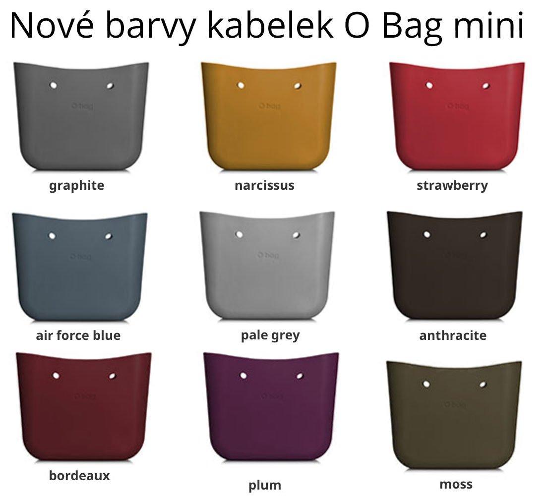 Nové barvy kabelek O Bag mini