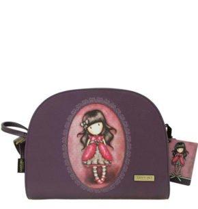 Santoro fialová kabelka Ladybird
