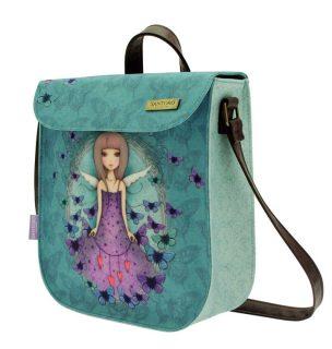 Santoro modrá kabelka Mirabelle Butterfly