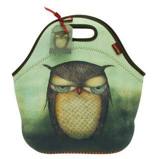 Santoro neoprenová kabelka Grumpy Owl